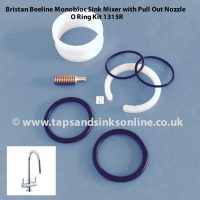 Bristan Beeline Pull Out Tap O'Ring Kit