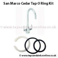 San Marco Cedar Tap O Ring Kit