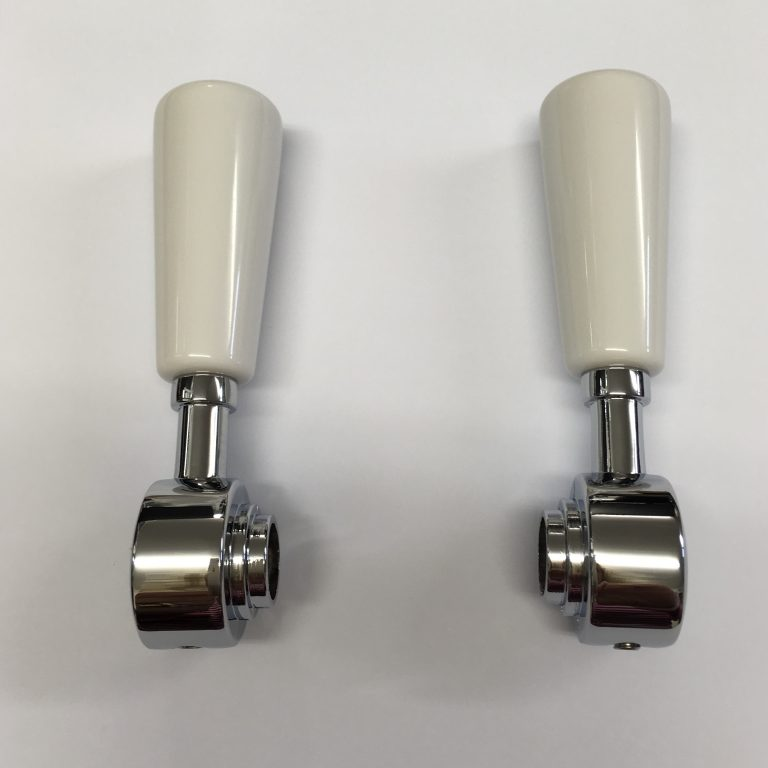 3044R White Ceramic Handles