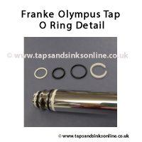 Franke Olympus Tap O Ring Detail