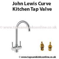 John Lewis Curve Kitchen Tap Valve