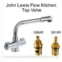 John Lewis Flow Kitchen Tap Valve