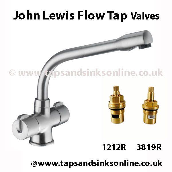 John Lewis Flow Tap Valve