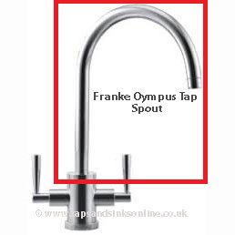 Franke Olympus Tap Spout Franke Tap Spares Kitchen Taps & Sinks ...