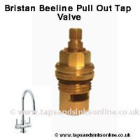Bristan Beeline Pull Out Tap Valve