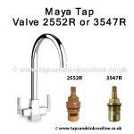 Maya Tap Valve 2552R or 3547R