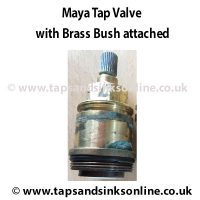 Maya Valve 2552R with Brass Bush 3886R attached