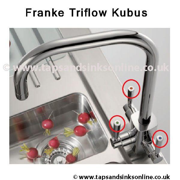 Franke Triflow Kubus Lever Detail