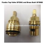 Franke Tap Valve SP3561 inside Brass Bush SP3868