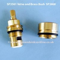 Franke Tap Valve SP3561 and Brass Bush SP3868