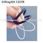 Reginox RF6 Tap O Ring Kit 1231R
