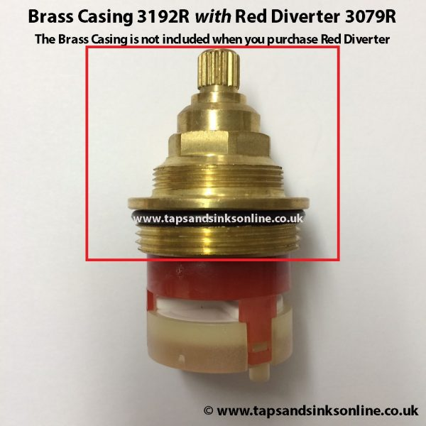 Pre 2009 Brass Casing 3192R