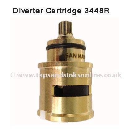 Post 2009 Cold Diverter Cartridge 3448R