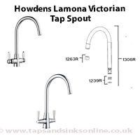 Howdens Lamona Victorian Tap Spout