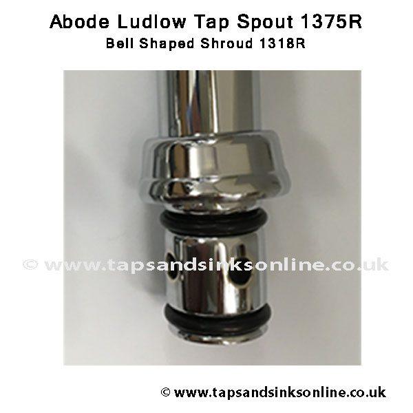 Ludlow 1318R Bell Shroud Spout Detail