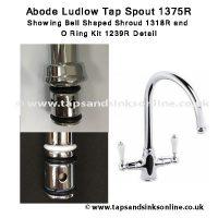 Ludlow 1375R spout detail