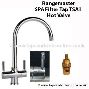 Rangemaster SPA Filter Tap TSA1 Hot Valvee