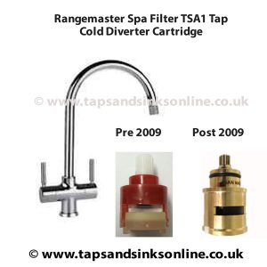 Cold Diverter Cartridge for Spa Filter TSA1 by Rangemaster