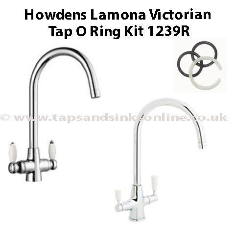 Howdens Lamona Victorian Tap O Ring Kit