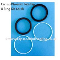 Carron Phoenix Zeta Tap O Ring Kit