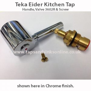 teka eider handle and valve set