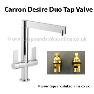 Carron Desire Duo Tap Valve