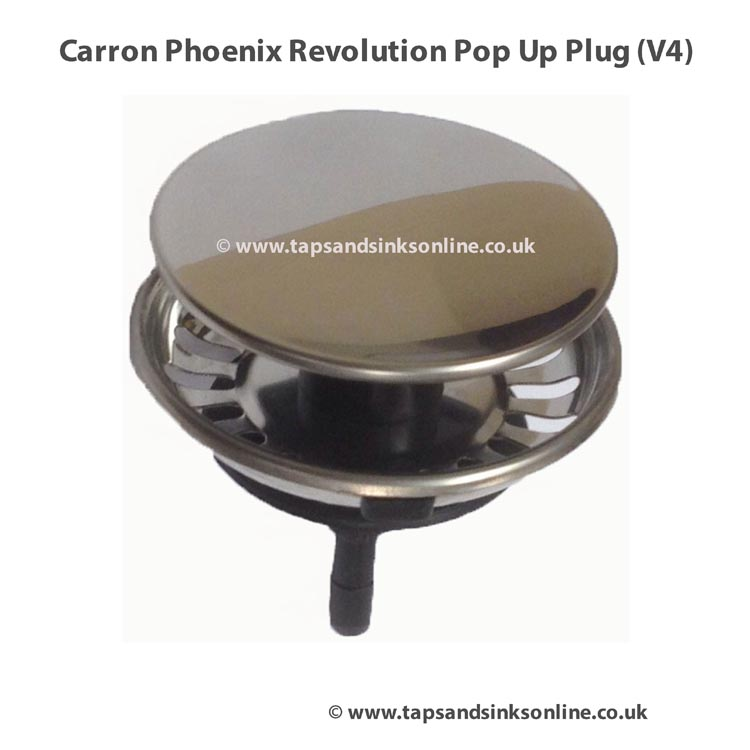Carron Phoenix Revolution Pop Up Plug How to maintain to extend its use