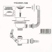 112.0021.120 waste kit blue print