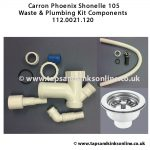 Shonelle 105 112.0021.120 Waste & Plumbing Kit