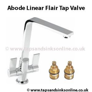 Abode Linear Flair Tap Valve
