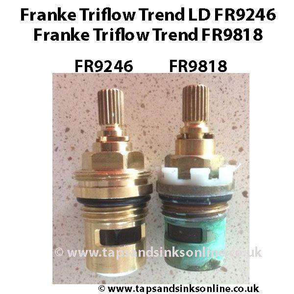Franke TriflowTrend LD FR9246 V FR9818