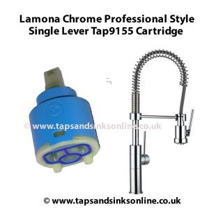 Lamona Chrome Professional Single Lever Tap9155 Cartridge 1202R
