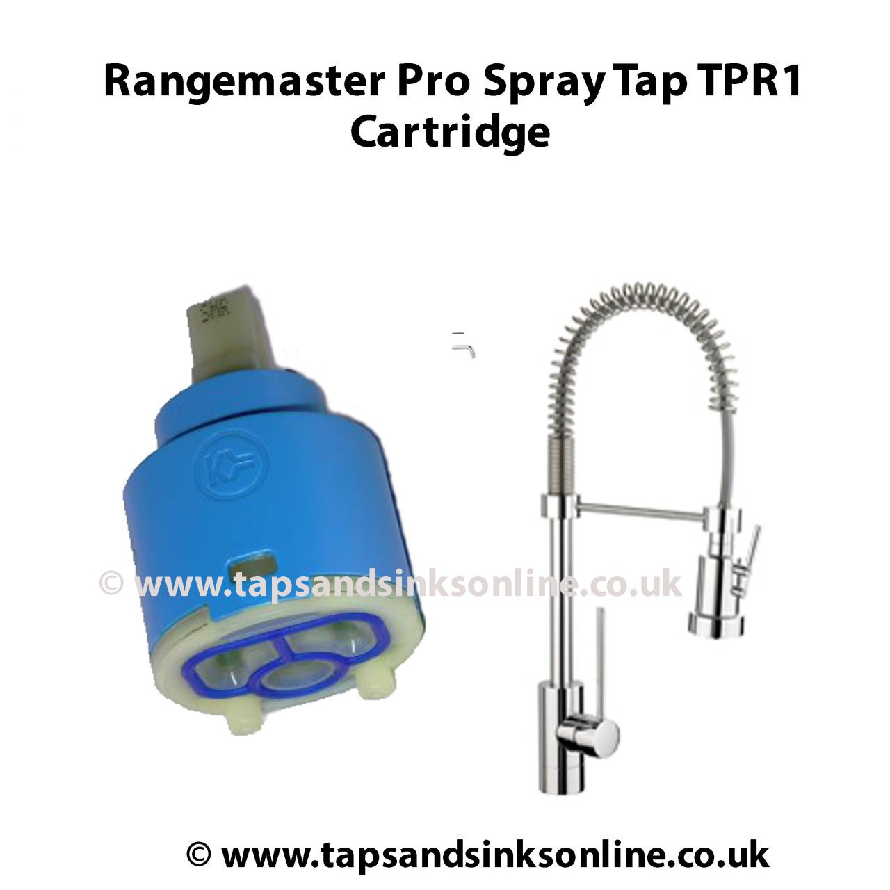 Rangemaster Pro Spray Tap TPR1 Cartridge | Rangemaster Tap Parts ...