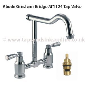 abode gresham BRIDGE AT1124 tap valve