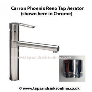 carron phoenix reno tap aerator