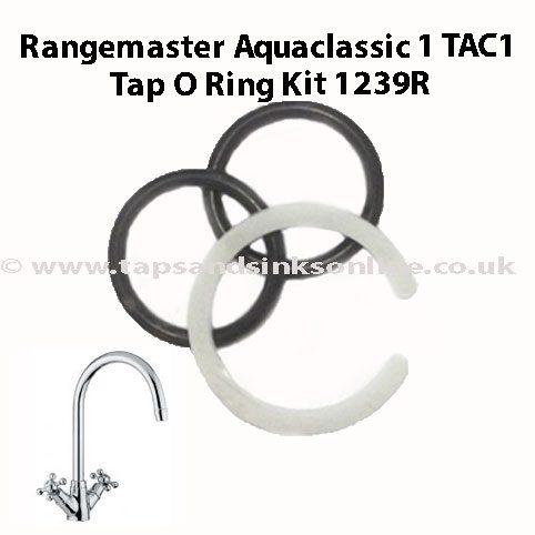 Rangemaster Aquaclassic 1 TAC1 Tap O Ring Kit 1239R