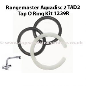 Rangemaster Aquadisc 2 TAD2 Tap O Ring Kit 1239R