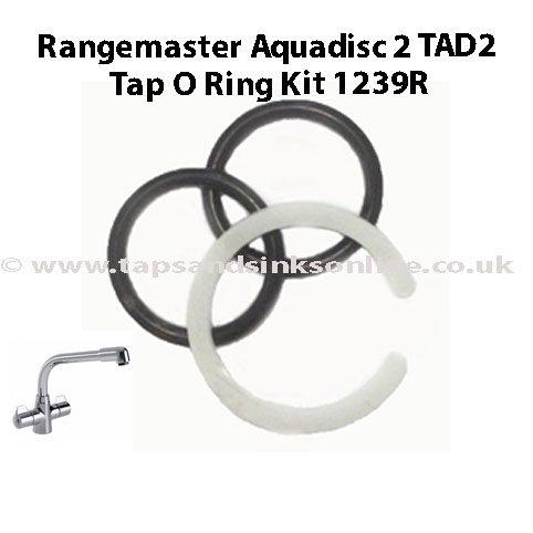 Rangemaster Aquadisc 2 TAD2 Tap O Ring Kit 1239R