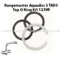 Rangemaster Aquadisc 3 TAD3 Tap O Ring Kit 1239R