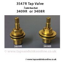 3547R valve with 3408R and 3409R