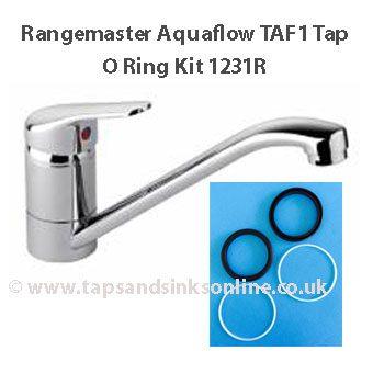 Aquaflow TAF1 Tap O Ring Kit 1231R