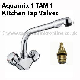 Aquamix 1 TAM1 Kitchen Tap Valve