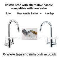 Bristan Echo with New Valve and Alternative Handle