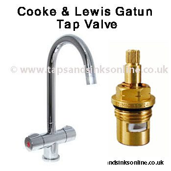 Cooke & Lewis Gatun Tap Valve | Cooke & Lewis Spare Parts Taps And ...