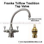 Franke Triflow Tradition Tap Valve