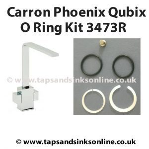 Carron Phoenix Qubix O Ring Kit 3473R