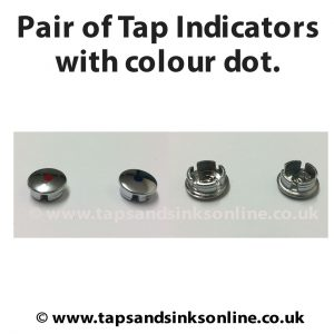 chrome indicators with colour dot