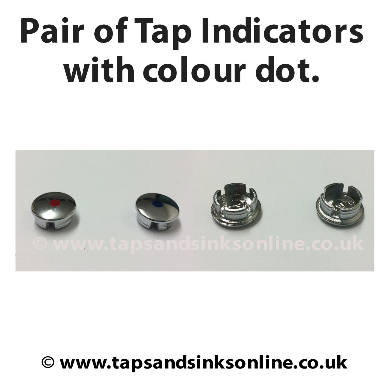 Franke Davos Tap Chrome Indicators Colour Dot | Franke Taps Parts ...