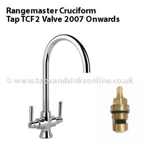 Rangemaster Cruciform Tap TCF2 (2007 Onwards) Valve