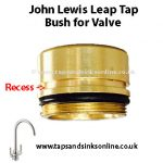John Lewis Leap Tap Bush for Valve